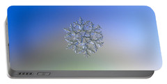 Snowflake Photo - Gardener's Dream Alternate Portable Battery Charger by Alexey Kljatov