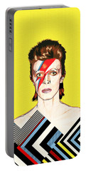 David Bowie Pop Art Portable Battery Charger