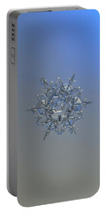 Snowflake Photo - Crystal Of Chaos And Order Portable Battery Charger