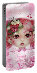 Rosie Valentine - Munchkinz Collection  Portable Battery Charger by Sheena Pike