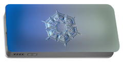 Snowflake Photo - Ice Relief Portable Battery Charger