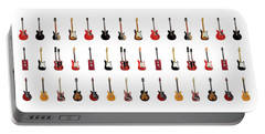 Guitar Icons No1 Portable Battery Charger by Mark Rogan