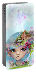 Eliza - Easter Elf - Munhkinz Character Portable Battery Charger by Sheena Pike