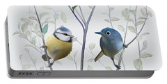 Birds In Tree Portable Battery Charger