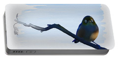 Eye To Eye With Silvereye Portable Battery Charger