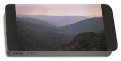 Rolling Hill Country Portable Battery Charger by Felipe Adan Lerma