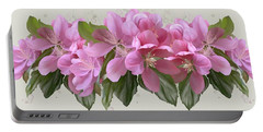 Pink Blossoms Portable Battery Charger