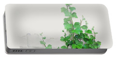 Vines By The Wall Portable Battery Charger