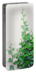 Vines By The Wall Portable Battery Charger by Ivana
