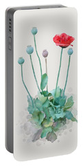 Poppy Portable Battery Charger by Ivana Westin