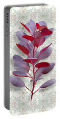 Royal Purple Portable Battery Charger by Ivana Westin