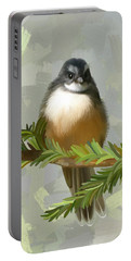 Fantail  Portable Battery Charger by Ivana Westin