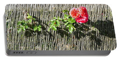 Floral Escape Portable Battery Charger by Ivana Westin