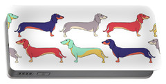 Dachshunds Portable Battery Charger