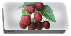 Sour Cherry Portable Battery Charger