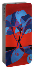 Enveloped In Red Portable Battery Charger