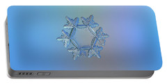 Snowflake Photo - Sunflower Portable Battery Charger
