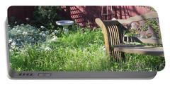 Wild Garden Portable Battery Charger by Felipe Adan Lerma
