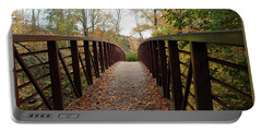 Thompson Park Bridge Stowe Vermont Portable Battery Charger