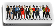 Michael Jackson King Of Pop Portable Battery Chargers