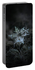 Snowflake Of 19 March 2013 Portable Battery Charger