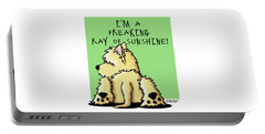 Cairn Terrier Sunshine Portable Battery Charger
