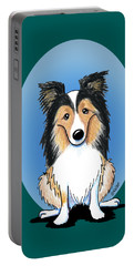 Kiniart Sheltie Portable Battery Charger