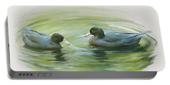 Blue Ducks  Portable Battery Charger