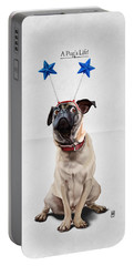 A Pug's Life Portable Battery Charger