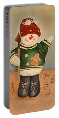 Snowman Junior Portable Battery Charger