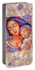 Dreaming Together Portable Battery Charger by Eva Campbell