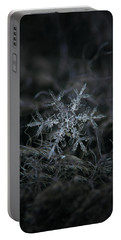 Portable Battery Charger featuring the photograph Snowflake 2 Of 19 March 2013 by Alexey Kljatov