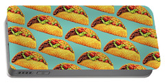 Taco Pattern Portable Battery Charger