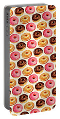 Donut Pattern Portable Battery Charger