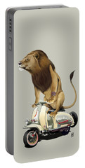 Lamb Colour Portable Battery Charger by Rob Snow