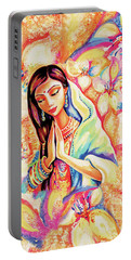 Little Himalayan Pray Portable Battery Charger by Eva Campbell