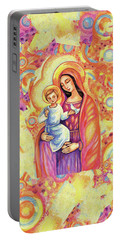 Blessing Of The Light Portable Battery Charger by Eva Campbell