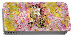 Black Sea Mermaid Portable Battery Charger