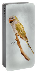 Derbyan Parakeet Portable Battery Charger by Angeles M Pomata