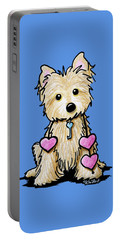 Heartstrings Cairn Terrier Portable Battery Charger