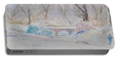 Central Park Record Early March Cold Circa 2007 Portable Battery Charger