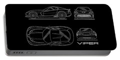 Viper Blueprint Portable Battery Charger by Mark Rogan