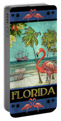 Portable Battery Charger featuring the photograph Florida Advertisement by Hanny Heim