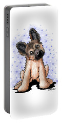 Curious Shepherd Puppy Portable Battery Charger