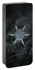 Real Snowflake Photo - The Shard Portable Battery Charger