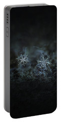 Snowflake Photo - When Winters Meets - 2 Portable Battery Charger