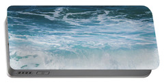 Ocean Waves From The Depths Of The Stars Portable Battery Charger by Sharon Mau