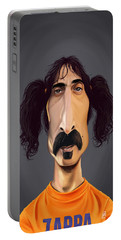 Celebrity Sunday - Frank Zappa Portable Battery Charger