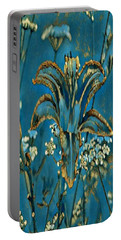 Turquoise Tigerlily  Portable Battery Charger