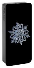 Snowflake Macro Photo - 13 February 2017 - 3 Black Portable Battery Charger